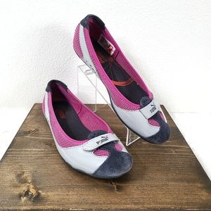 Puma  'Zandy' Patent Leather Casual Shoes Pink